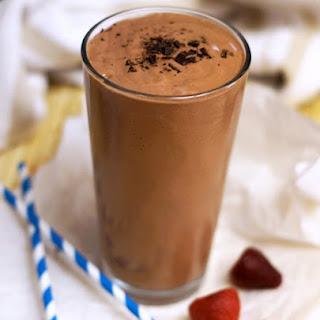 Chocolate Covered Strawberry Shake.