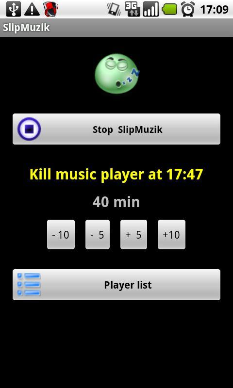 Music players killer - screenshot