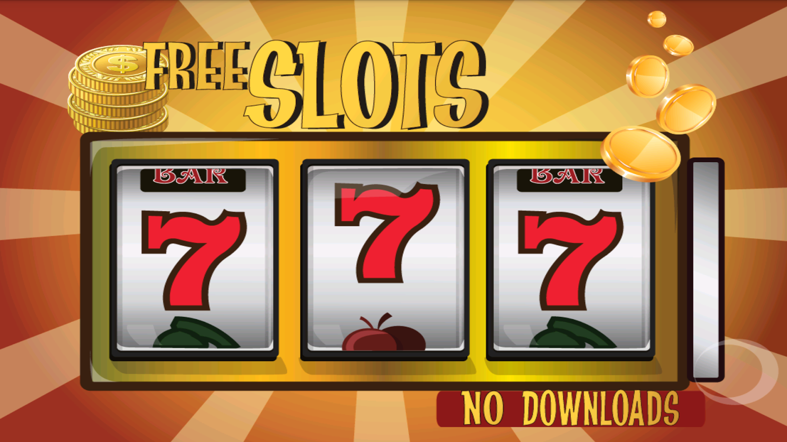 free slot machine with no downloading or registration
