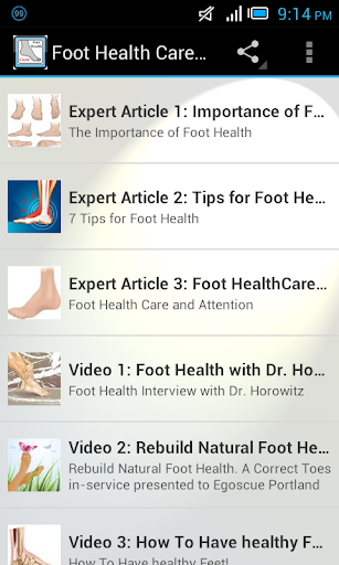 Foot Health Care Tips