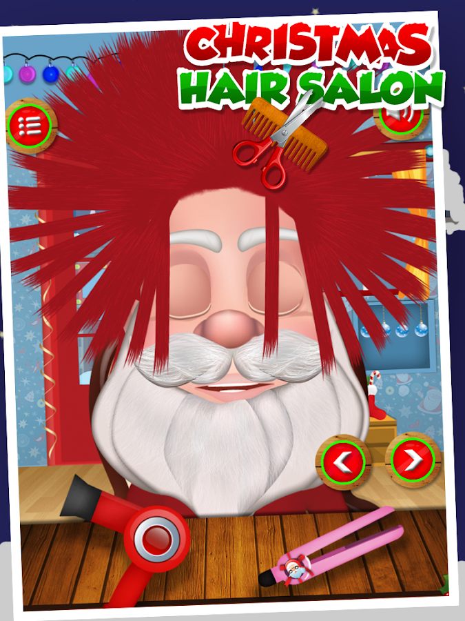 Christmas Kids Hair Salon- screenshot