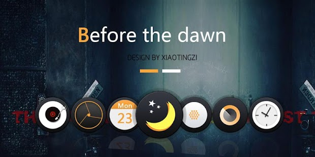 Before The Dawn GO Theme- screenshot thumbnail