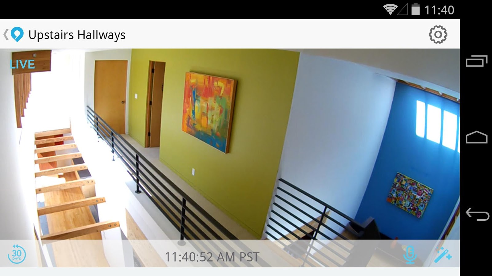 Dropcam- screenshot