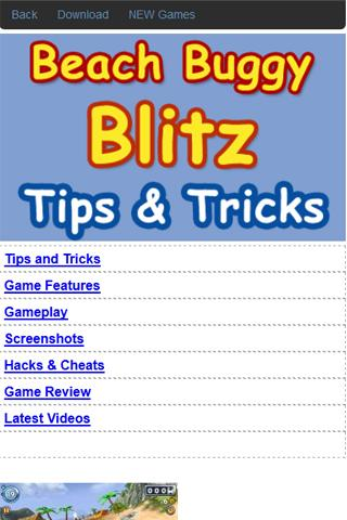 Beach Buggy Blitz Guide Cheats 1.0 apk