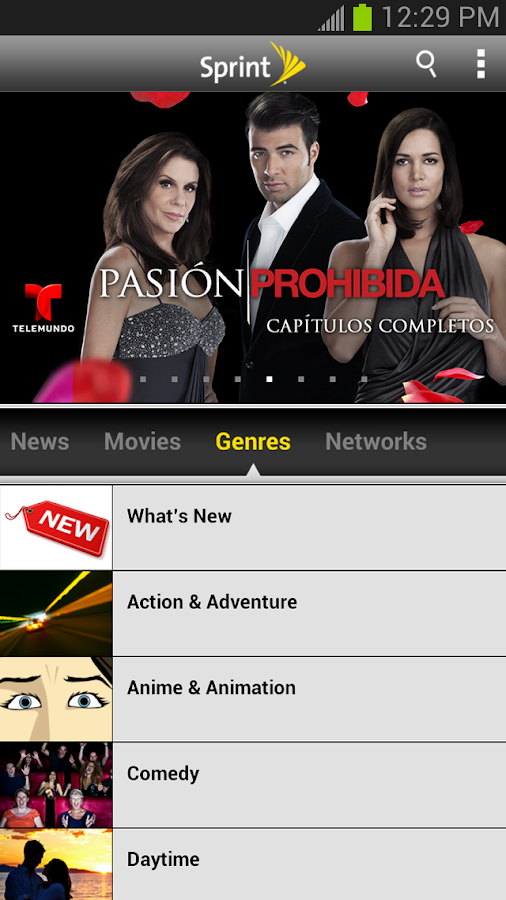 Sprint TV & Movies - screenshot