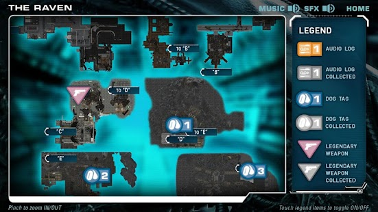 Aliens Colonial Marines App - screenshot thumbnail