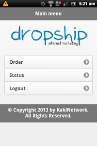 Dropship Internet Marketing screenshot 1