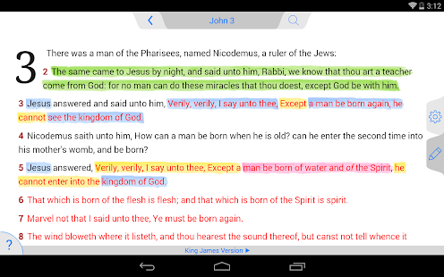 NKJV Bible - screenshot thumbnail