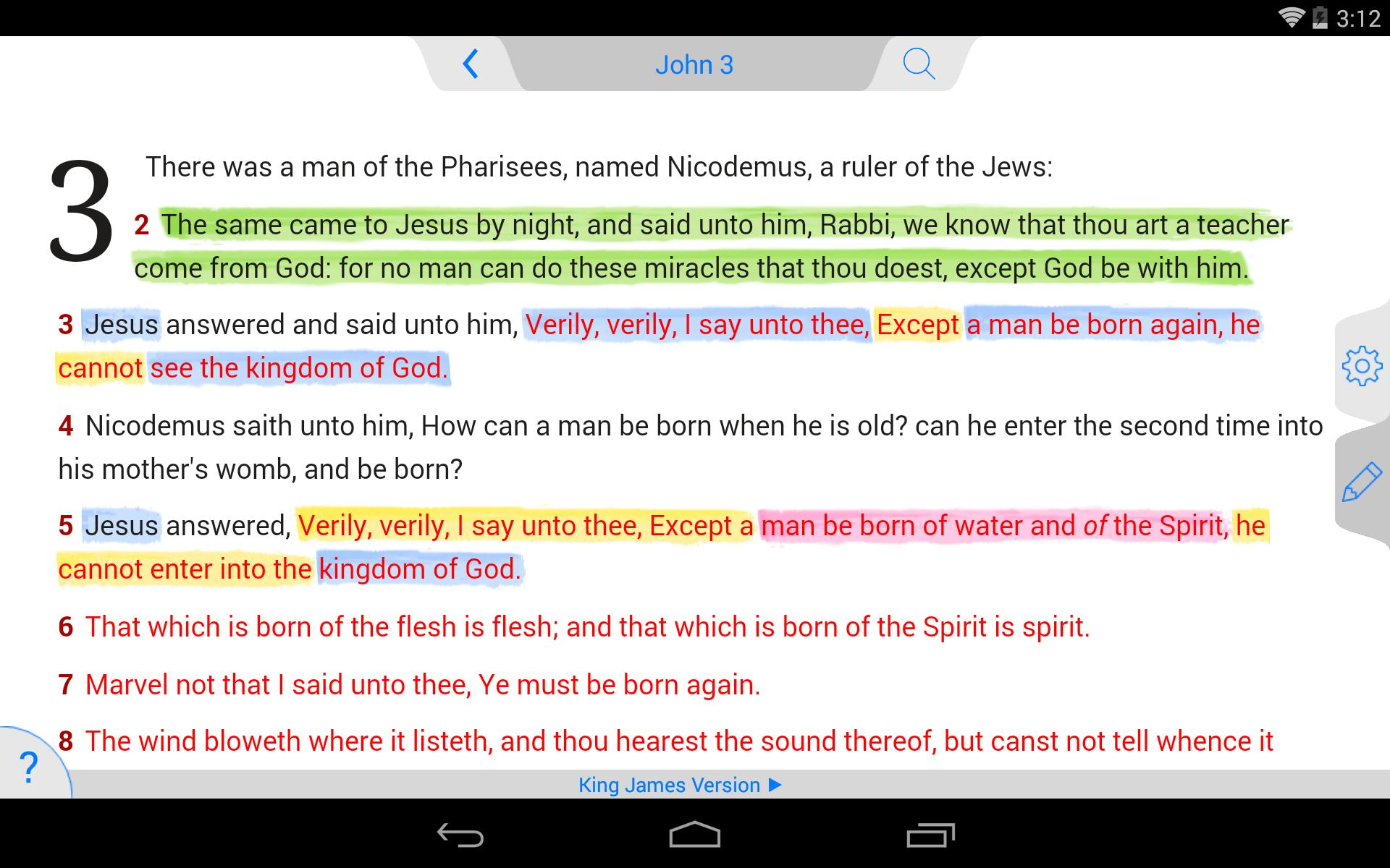 NKJV Bible screenshot #17