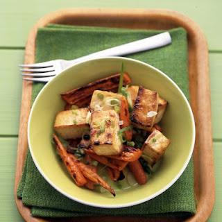 Soy-Glazed Tofu and Carrots