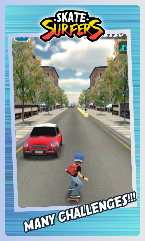 Skate Surfers Free - screenshot