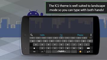 Screenshot of ai.type ICS Theme Pack