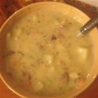 Cream of Potato Soup I.