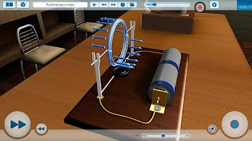 Screenshot of Electromagnetism