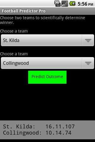 Football Predictor Pro - screenshot
