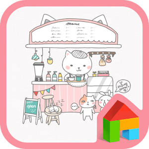 Welcome babi(cafe)Dodol Theme download