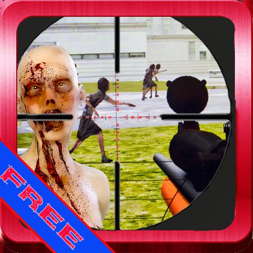 狙擊手殺殭屍的3D射擊遊戲 動作 LOGO-玩APPs