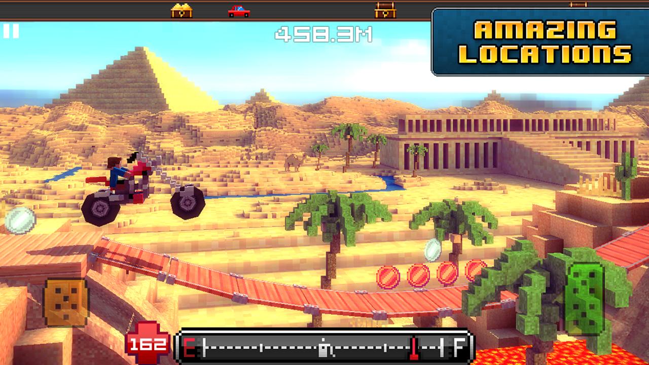 Blocky Roads screenshot #3