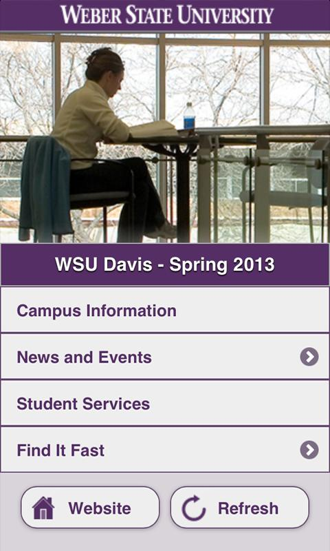 Weber State Davis - screenshot