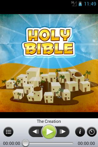 Holy Bible - Audio Book Ed. - screenshot