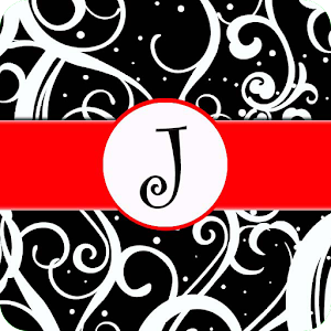 Monogram J Scroll Live WP for Android
