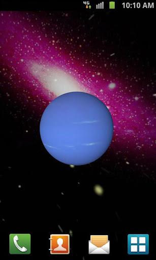 【免費個人化App】3D Neptune Live Wallpaper-APP點子