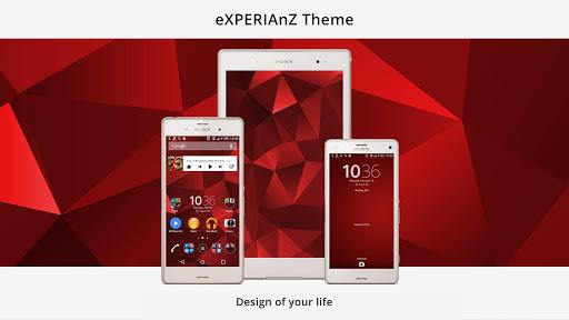Theme eXPERIAnZ - Red PRO Z