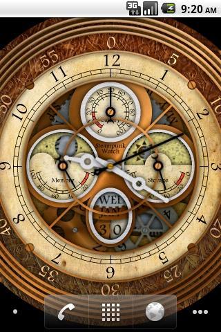 Steampunk Watch Wallpaper