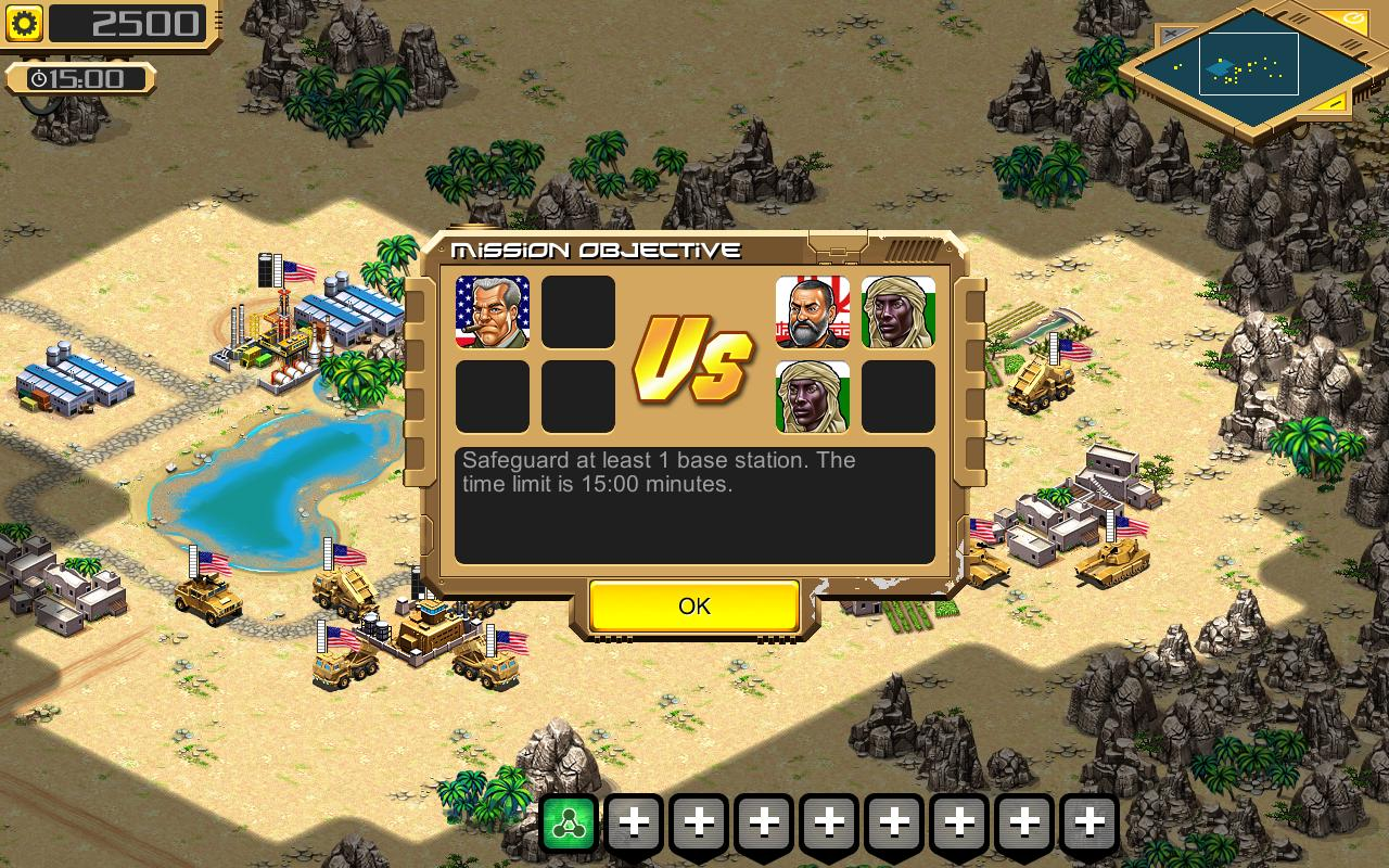 Desert Stormfront LITE - RTS- screenshot