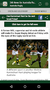 Australia Rugby 24h- screenshot thumbnail