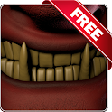 Evil teeth Free live wallpaper icon