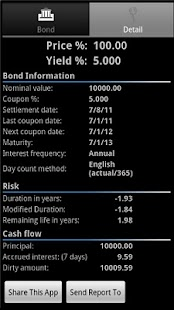 Bond Calculator- screenshot thumbnail