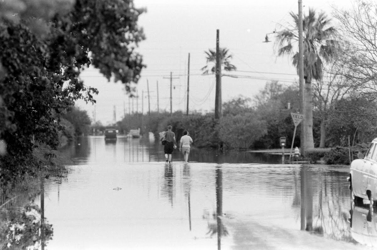 Hurricane Carla Freeport, Texas And Galveston