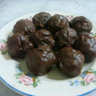 Chocolate Peanut Butter Balls.