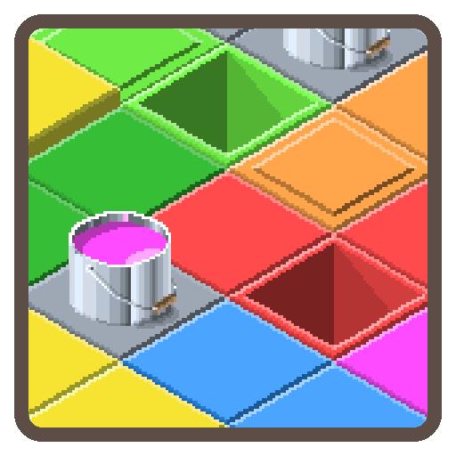 解谜のカラフルフロア LOGO-記事Game