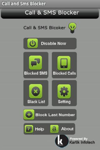 Call and Sms Blocker - screenshot