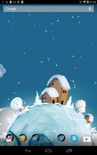 冬プラネットライブ壁紙