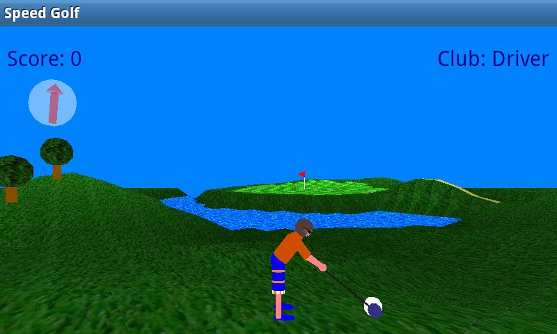 Speed Golf Lite- screenshot