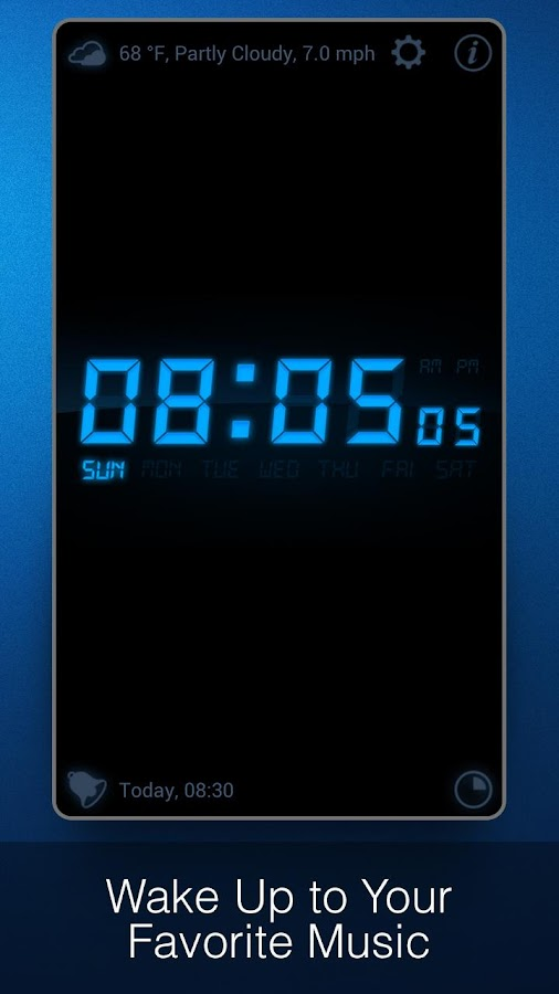 My Alarm Clock - screenshot