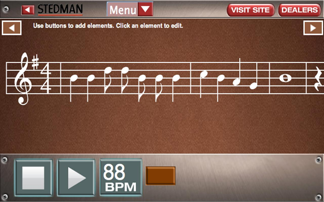 Write Music by Stedman - screenshot