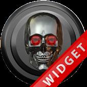 Poweramp Widget Titan Skull