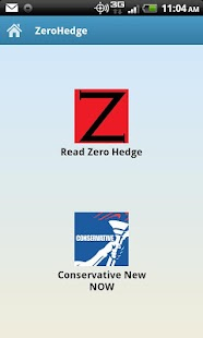 ZeroHedge Reader Mobile- screenshot thumbnail