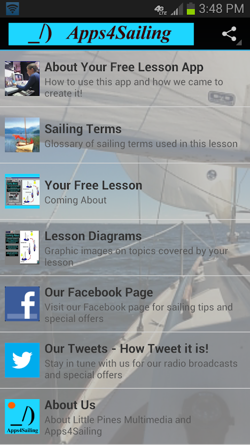 Free Sail Lesson Apps4Sailing - screenshot