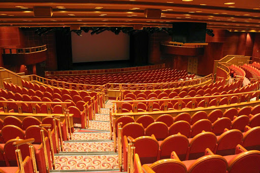 Emerald-Princess-Princess-Theatre - The Princess Theater, which spans two decks on Emerald Princess, offers lavish productions.