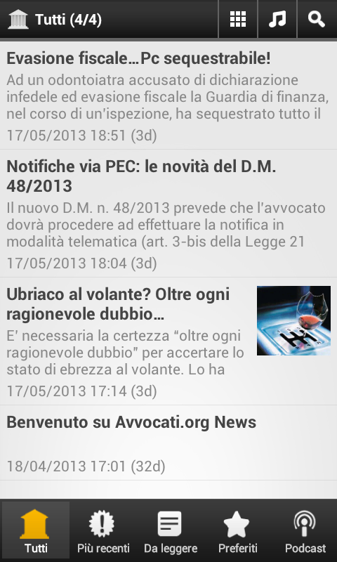 Avvocati.org News- screenshot