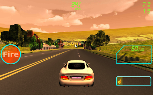 Supercar Shooter : Death Race - screenshot thumbnail