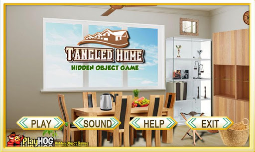 Tangled Home - Hidden Object