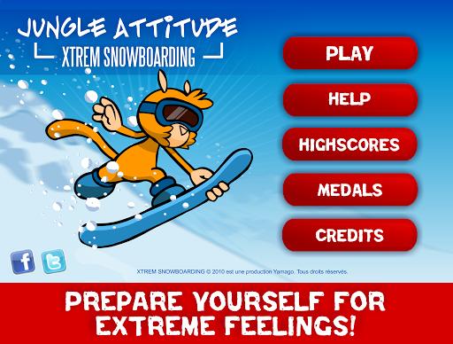【免費體育競技App】Xtrem Snowboarding-APP點子