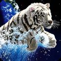 3D Tiger icon