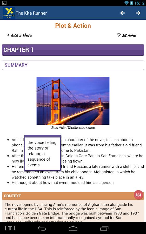 The Kite Runner essay help!?